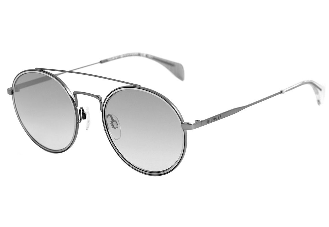 c8283d027b tommy hilfiger th 1455 s - óculos de sol r80 ic cinza. Carregando zoom.
