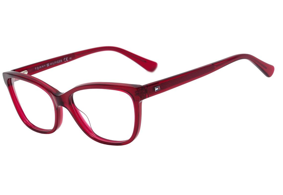tommy hilfiger th 1531 - óculos de grau c9a 16 vermelho. Carregando zoom. e3cf11f2ed