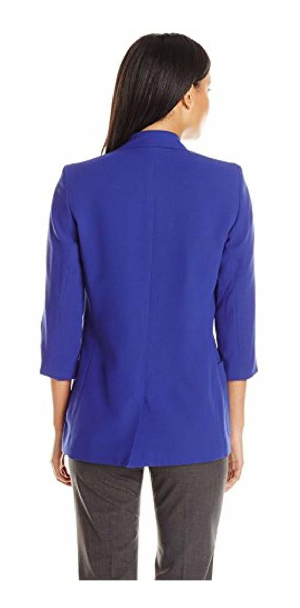 Tommy Hilfiger Women/'s Lace-Trim Grommet Blazer