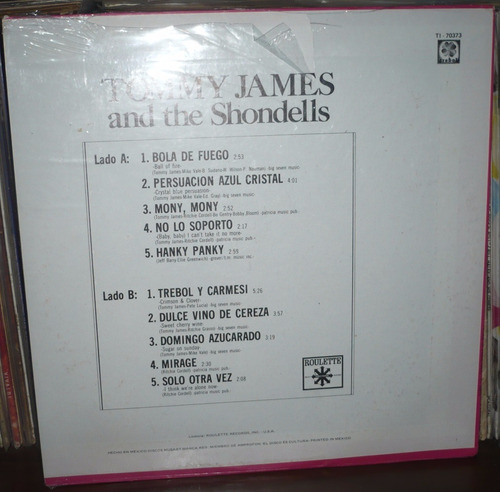 tommy james and the shondells lp sellado de fabrica