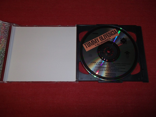 tommy olivencia - oro salsero cd doble nac ed 1995 mdisk