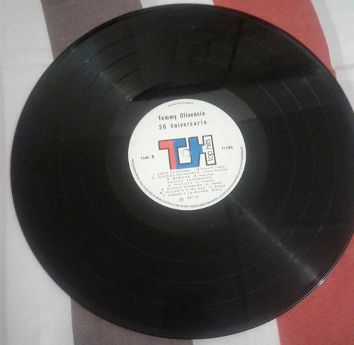 tommy olivencia y su orquesta/ 30 aniversario/ salsa/lp 1987