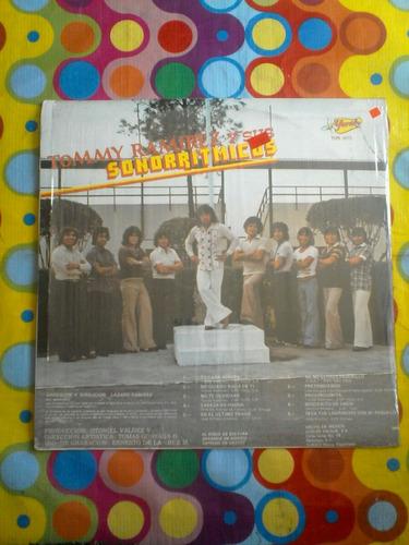 tommy ramirez y sus sonorritmicos lp tu cara bonita  1980 r