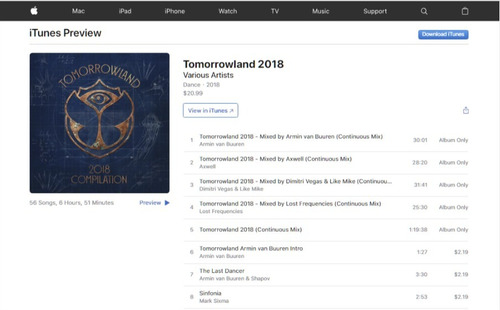 tomorrowland belgium 2018 the story of planaxis itunes