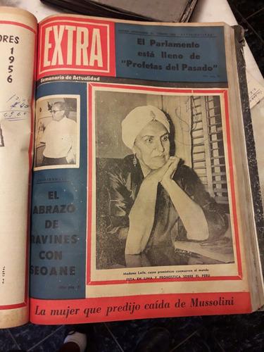 tomos de revistas antiguas extra de colección.