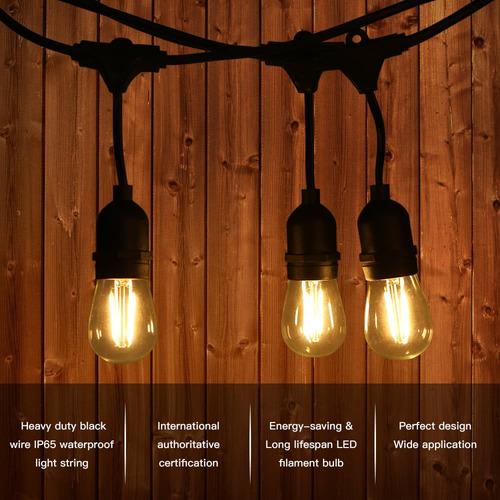 tomshine ul listado cadena luz equipo 120 v ca 30w