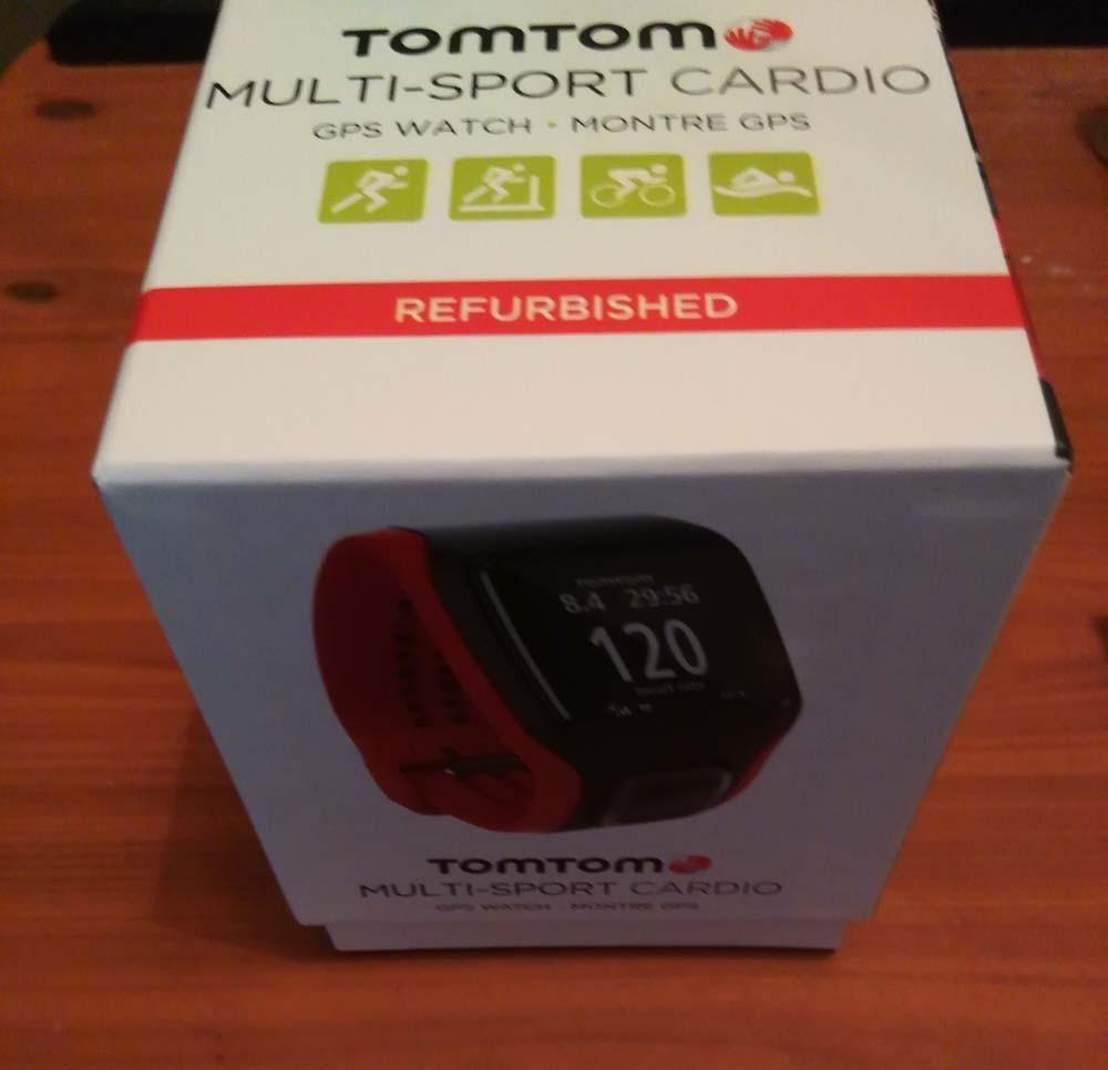 30856114c334 Tomtom Multisport Cardio - Gps De Mano