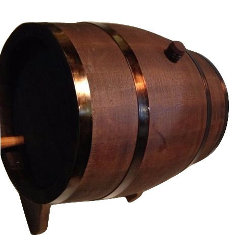 tonel | barril | corote de carvalho escuro premium 5 l envel