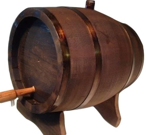tonel | barril | de carvalho 3 litros + frete gratis