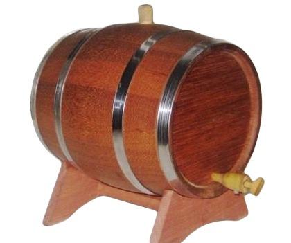 tonel barril de carvalho 5 l artezanal/cachaca/top/corote