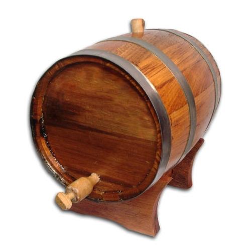 tonel barril de carvalho europeu 3 litros caneca  brinde