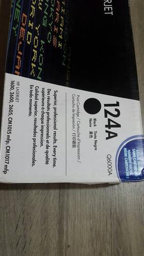 toner 124a negro hp original nuevo sellado en caja + factura