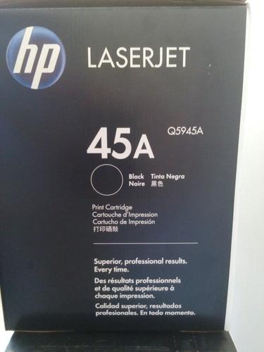 toner 45a q5945a impresora 4345 americano ultimo cs