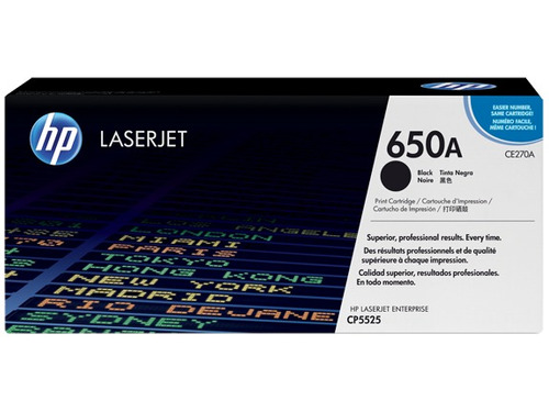 toner absolutamente original hp 650a