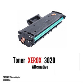 Toner Alternativo Xerox 3020 Sucursal Cordoba
