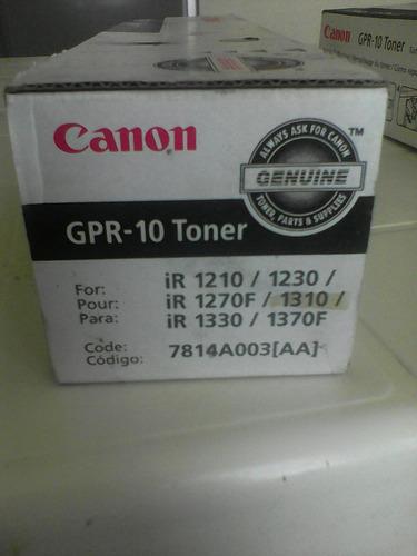 toner canon gpr 10 original