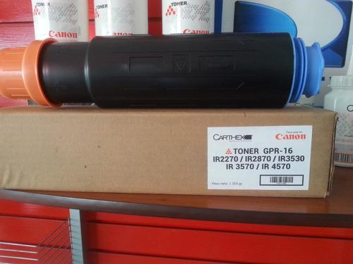 toner canon ir 3570/4570/2870 carthex gpr15/16 1100grm