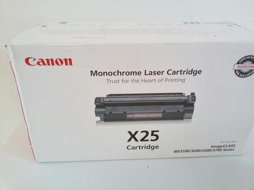 tóner canon x25 original, nuevo y garantizado.