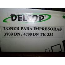 Toner Delcop Tk332 Impresora 4700 3700 Entrega Envio Caraca