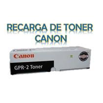 Recarga De Toner Canon 128 / 104 / Gpr-22 Gpr-18 Gpr-2