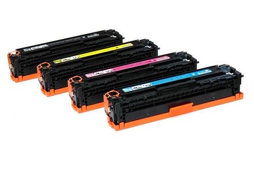 toner  cc530a/531a/532a/533a - 304a genéricos y originales