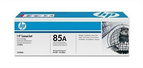 tóner ce285ad hp 85a dual pack laserjet - negro