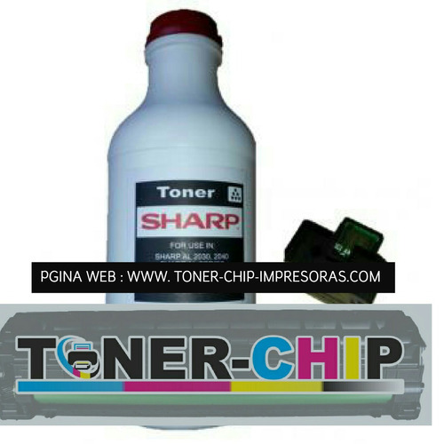 toner +  chip sharp
