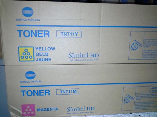 toner  color bizhub c654   c754