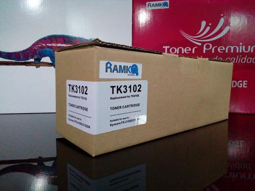 toner compatible con kyosera tk3102