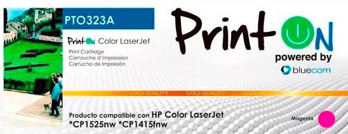 toner compatible hp 128a ce320a ce321a ce322a ce323a printon