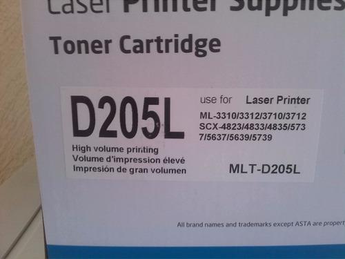 toner compatible mlt-d205l