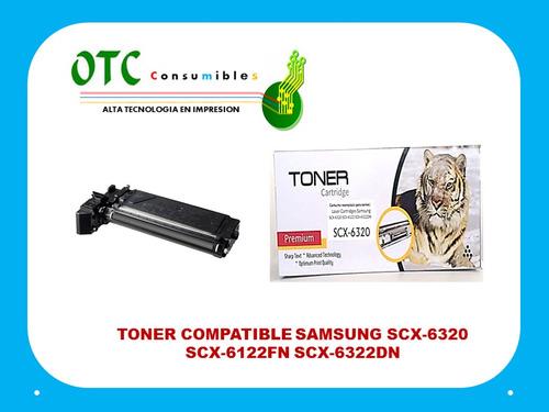 toner compatible samsung scx-6320 scx-6122fn scx-6322dn