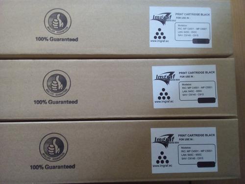 toner copiadora ricoh color mpc 4501 5501 4000 4001 y otros.