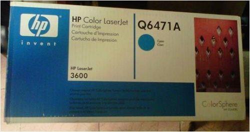 toner cyan q6471a remanufacturado usa. laser hp 3600 tampico