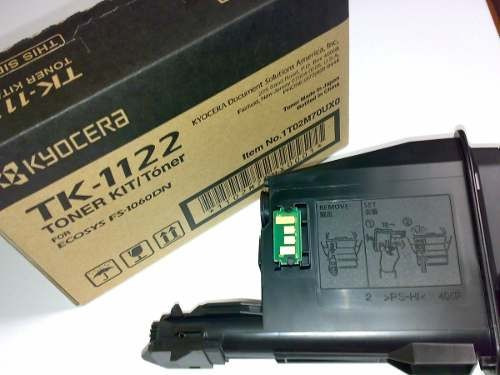 toner de recarga  para tk-1122 / 1112 / 477 - kyocera