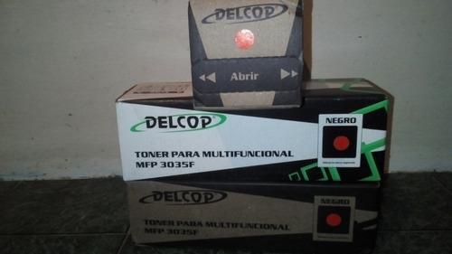 toner delcop para multifuncional negro mfp 3035f (12 vrds)
