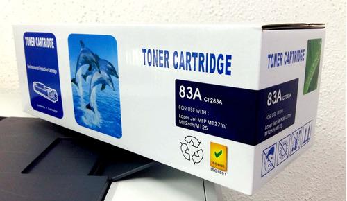 toner ecompatible cf283a, m125-m127 (1600pag) 100% new hp83a
