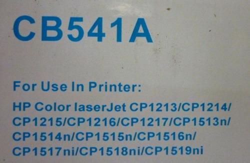 toner generico hp color cb540/cb541/cb542/cb543 somos fauca