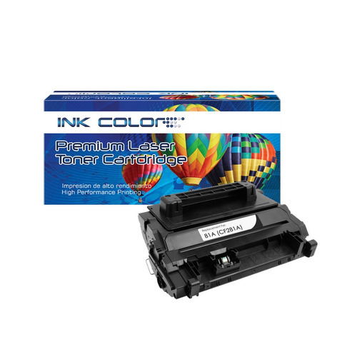toner generico ink color cf281a 281a 81a /m604 m605 m606