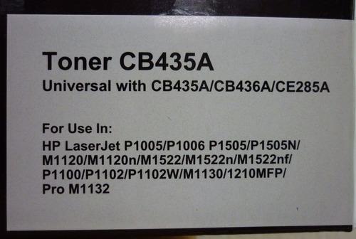 tóner genérico para p1102w - suministros fauca