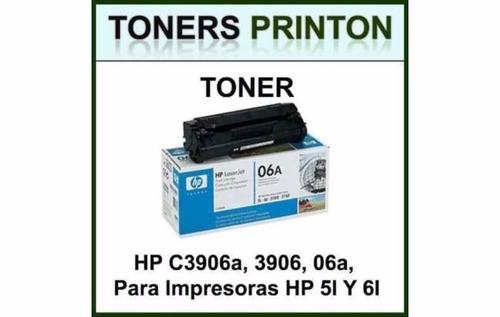 toner hp 06a c3906a 1100 ax 5l 6l, 6l gold, 6l pro, 3100 org
