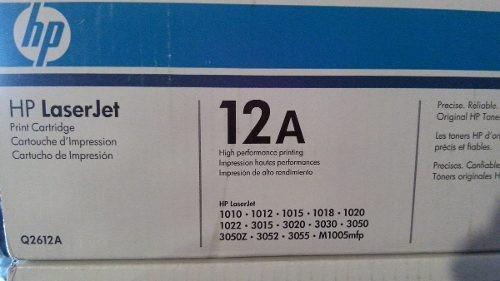 toner hp 12a q2612a remanufacturado 1010 1012 1015 3050 305
