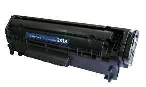 toner hp  283a usados - 3 unidades vazias