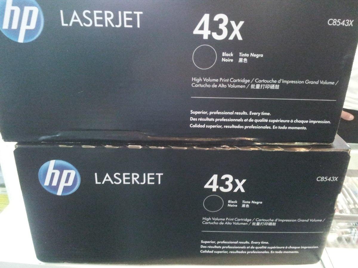Toner Hp 43x C8543x Mfp 9000 9050 9040 Original Bs 9107 High Yield Black Laserjet Cartridge Cargando Zoom