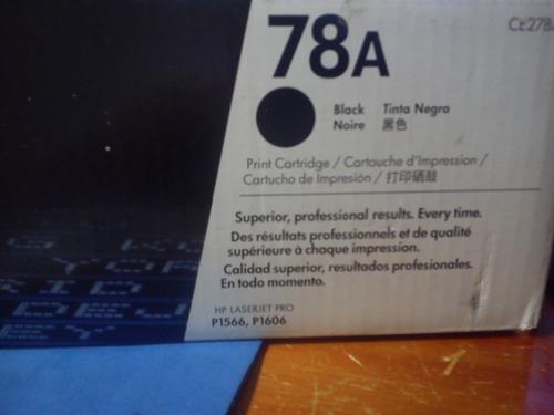 toner hp 78a vacio