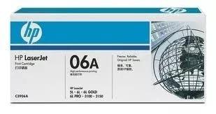 toner hp c3906a, 3906, 06a, para impresoras hp 5l y 6l