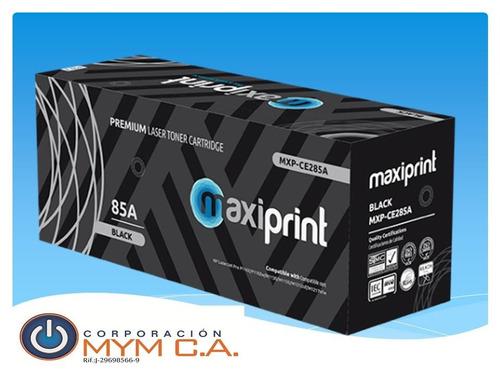 toner hp ce285a 285a compatible maxiprint