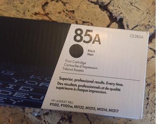 toner hp ce285a 85a original impresora laserjet p1102 m1132