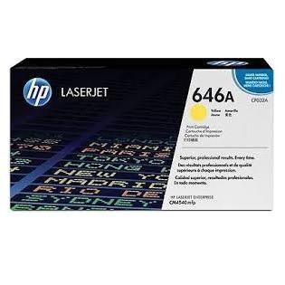 toner hp cf032a amarillo 646a laserjet cm4540 12.500 paginas