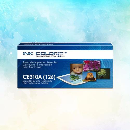 toner hp genérico color ce310a / cf350a (126/130)